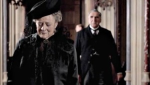 Downton Maggie Smith mourning
